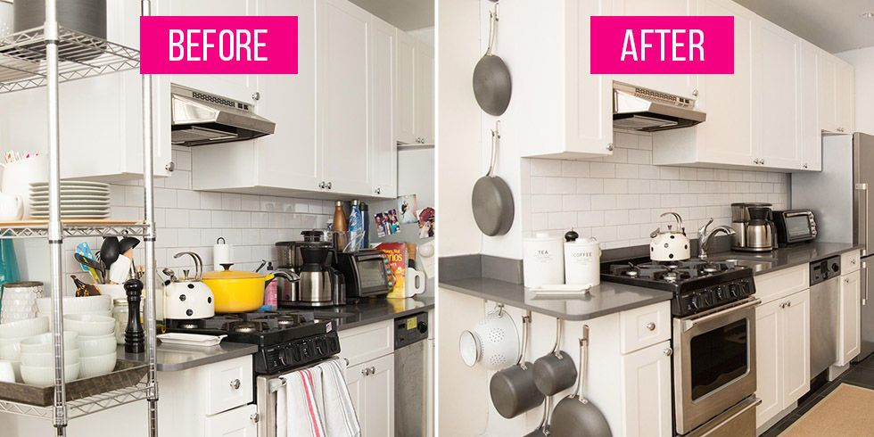 a pro organizer completely transformed my tiny kitchen kitchen remodel kitchen organisation on kitchen organization before and after id=13931