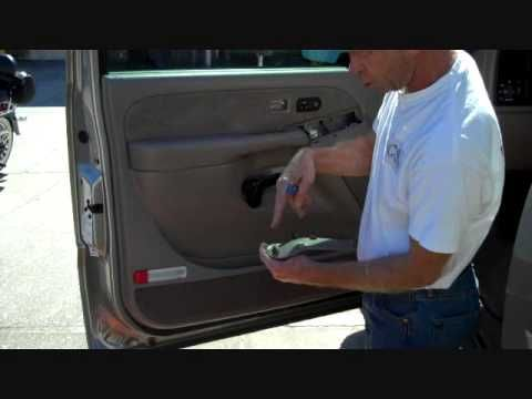 Gmc Sierra And Chevrolet Silverado Front Speaker Removal Chevrolet Silverado Silverado 2002 Chevy Silverado