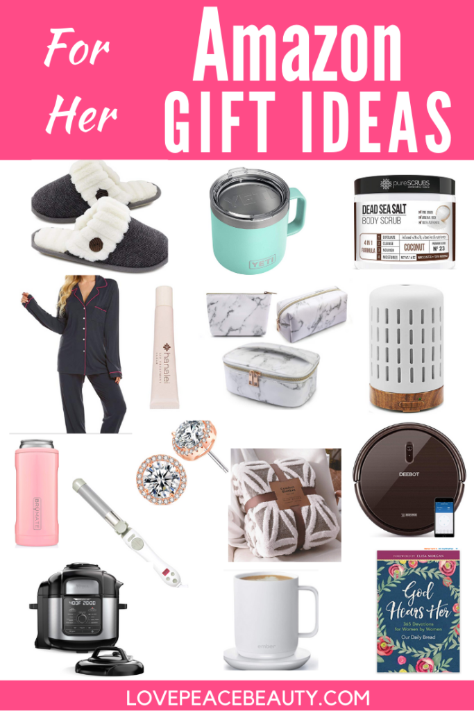 Here Are The Ultimate Amazon Gift Ideas For Her Shopping For Christmas Ideas For Her Doesn T Have To Be St Amazon Gifts Christmas Ideas For Her Peace And Love