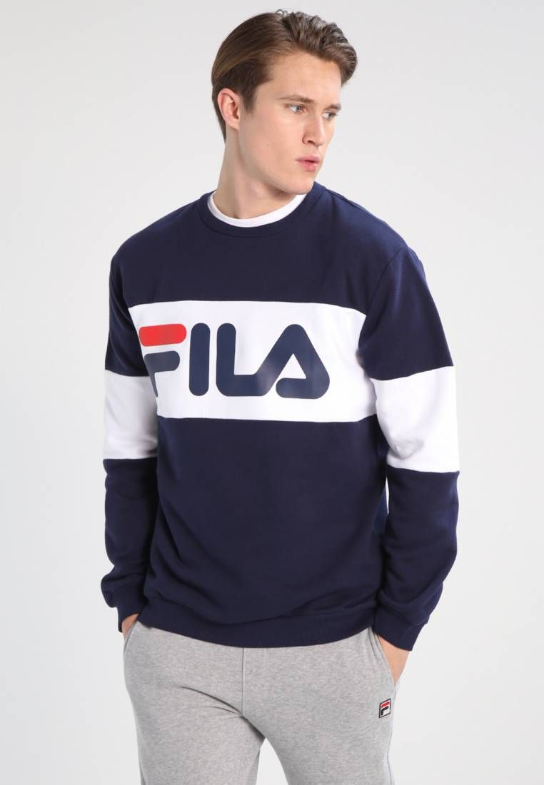Sweat Fila Straight Blocked Crew