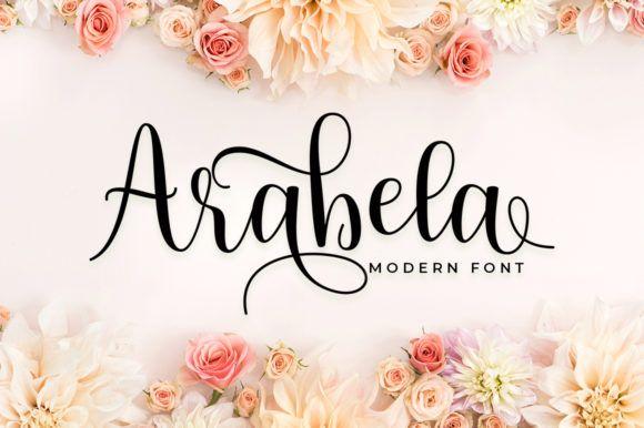 Download Arabela (Font) by Aqeela Studio · Creative Fabrica in 2020 ...