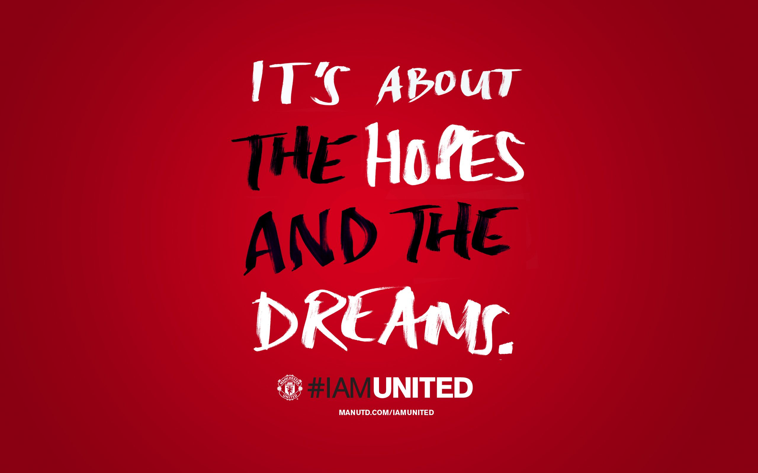 Manchester United Quotes Wallpaper 546 Songiadapro Sepak Bola Olahraga Foto Dinding