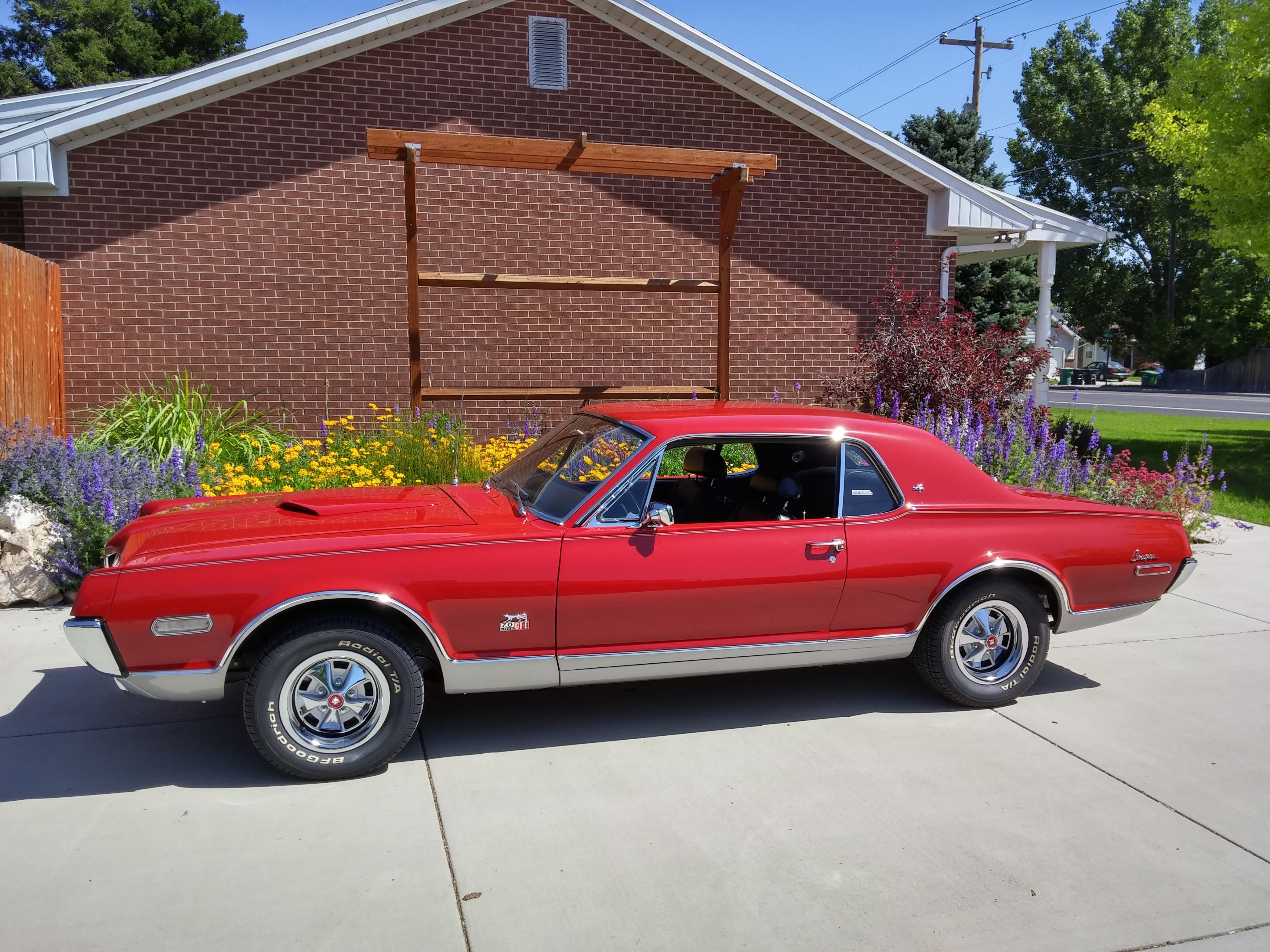 1968 mercury cougar xr 7 gt e w code ford mustang s younger