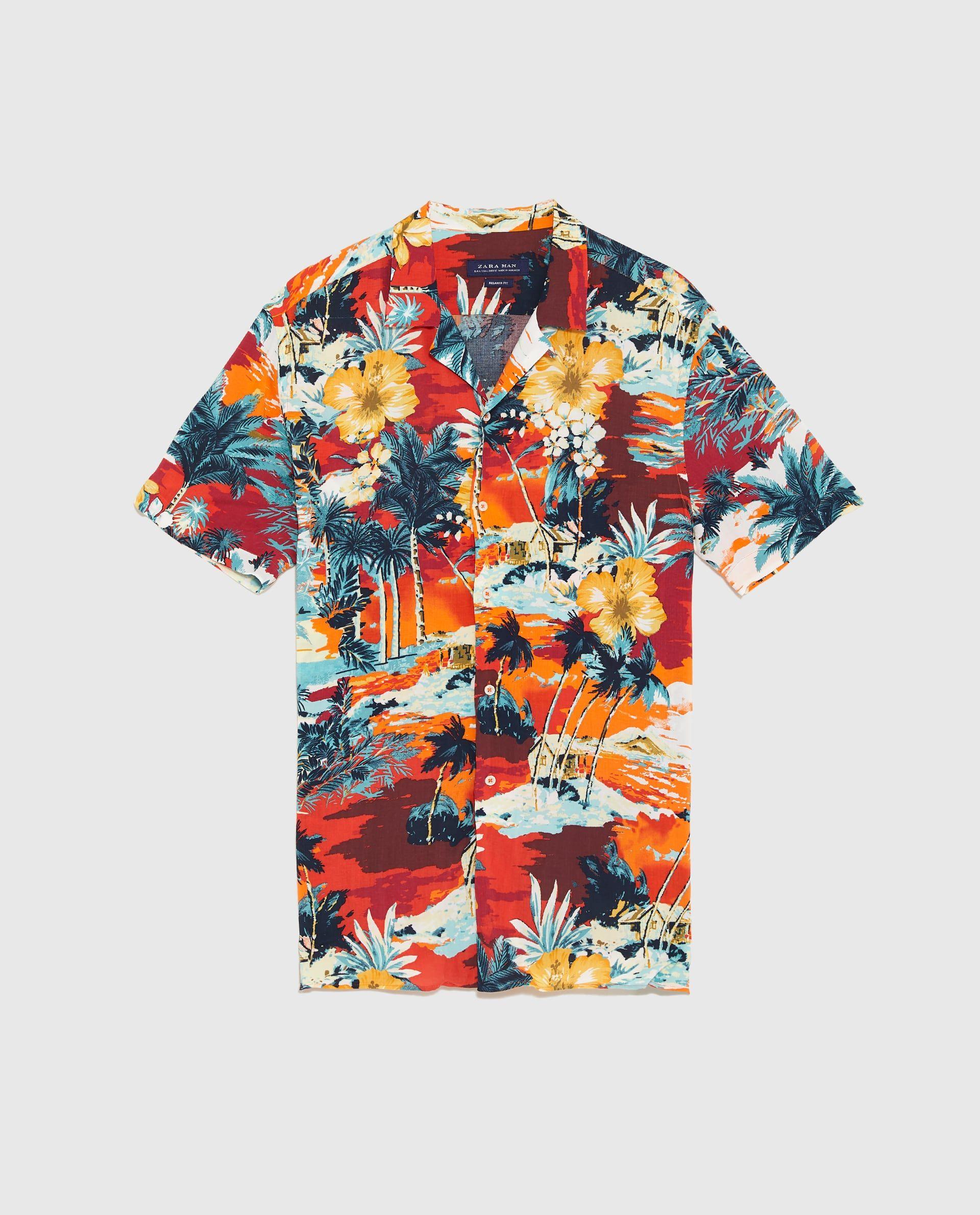 Estampada Shirts Camisas Camisa 2019 En PlayaPattern Estampadas LjAR54