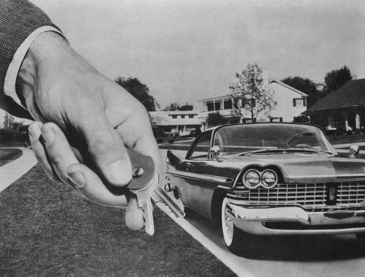 Come Along For A Ride - detail from 1959 Plymouth Sale Brochure ...