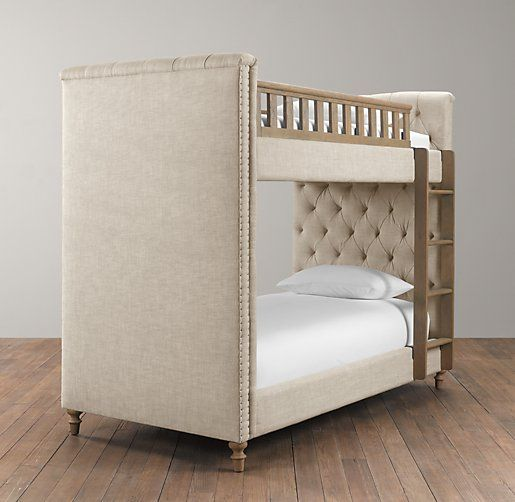 Chesterfield Upholstered Bunk Bed Bunk Beds Restoration