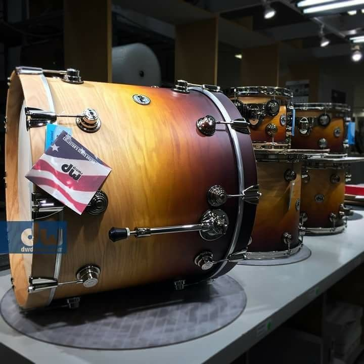 Pin by Terry Nugent on DW Drums   Dw drums, Drums, Instruments