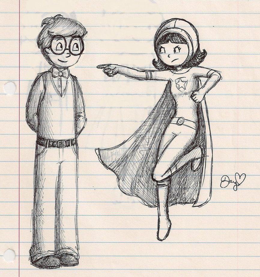Ink Sketch by superstarwordgirl on deviantART