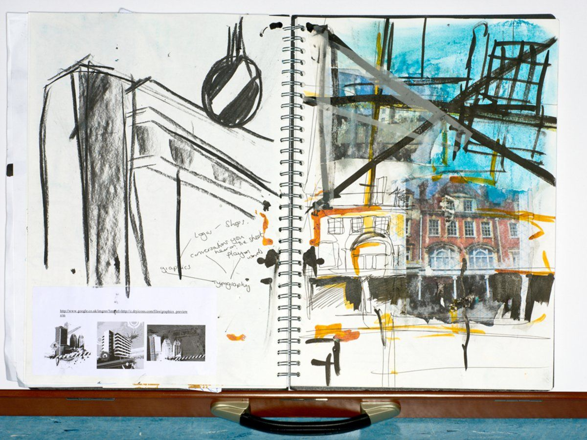 Jess Rhodes PrepHE Foundation Sketchbook Art inspo Pinterest