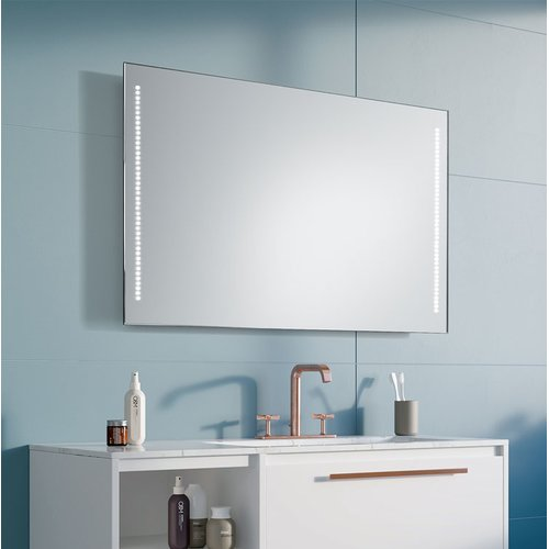 Metro Lane Zabala Bathroom Mirror Mirror Coral Bathroom