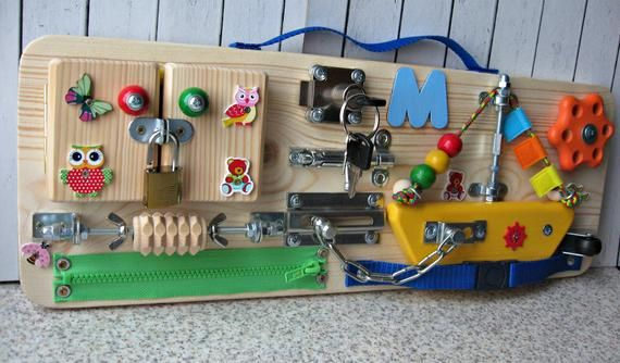 Personalized Busy Board Small Boat, Toy for Toddler ...
