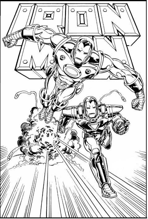 Pin By Coloring Fun On Iron Man Cool Coloring Pages Iron Man Pictures Coloring Books