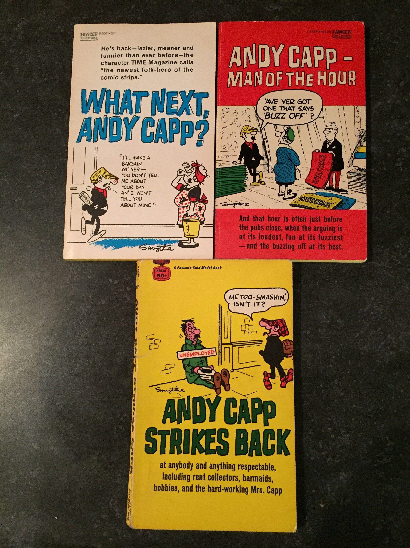 Photo of 1964-65 Andy Capp Comic Book Lot – 3 Pocketbooks – Vintage Comics – Retro Humor – Classic Comics