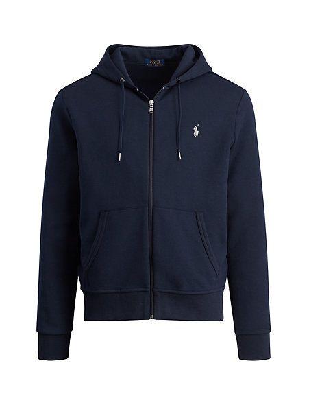Polo Ralph Lauren - Sweat à capuche zippé tricot double   Ralph ... 268f43e0a5f8