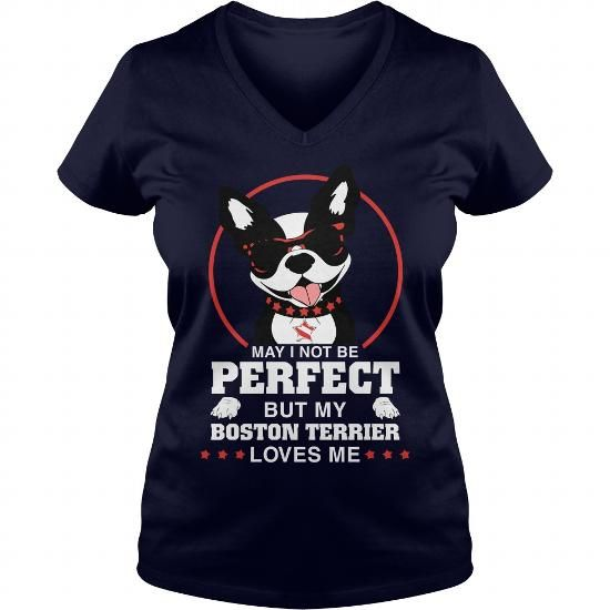 I Love Boston Terrier Love T-Shirts