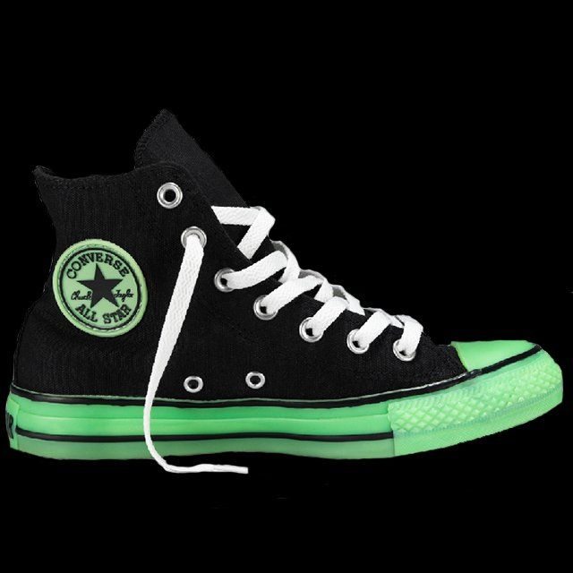 0ebfe32c6491 Glow in the Dark Converse Chuck Taylors in 2019 | I might have a ...