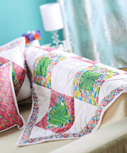 Summer Quilt & Cushions