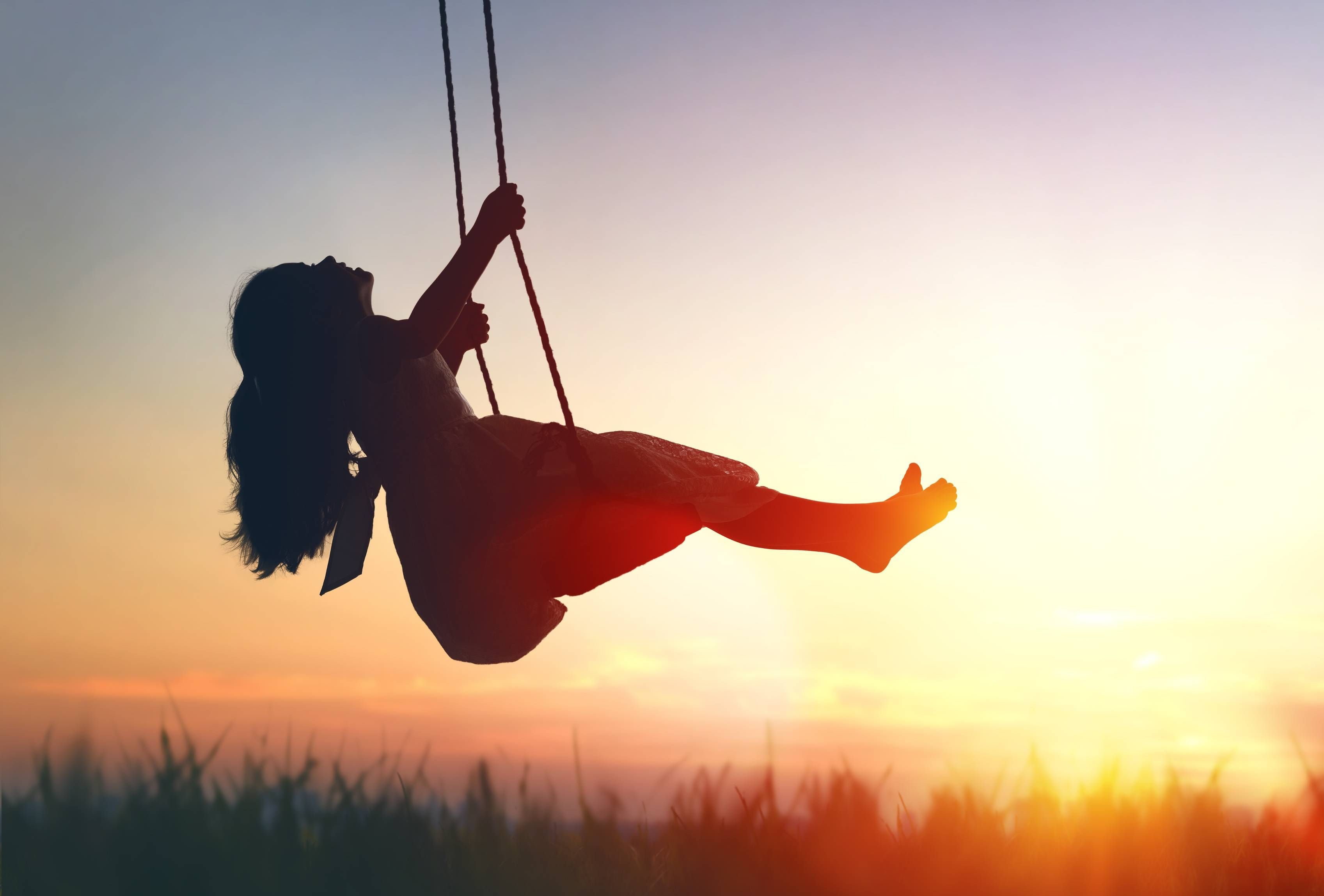 What happens when parents loosen up a bit? Look to the Dutch - The Boston  Globe | Kids silhouette, Playground photography, Swing photography