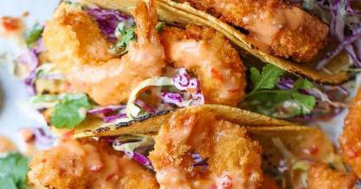 Bang Bang Shrimp Tacos Recipe   Yummly