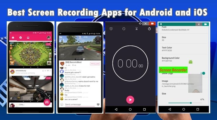 15 Best Screen Recorder Apps for Android and iOS Screen
