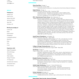 Videographer Resume Resume Templatevideographer Resumeproduction Designer Resume