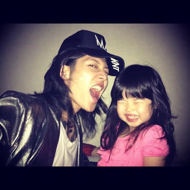 Miyavi And His Daughter Lovelie I Think Fatherhood Has Made Him