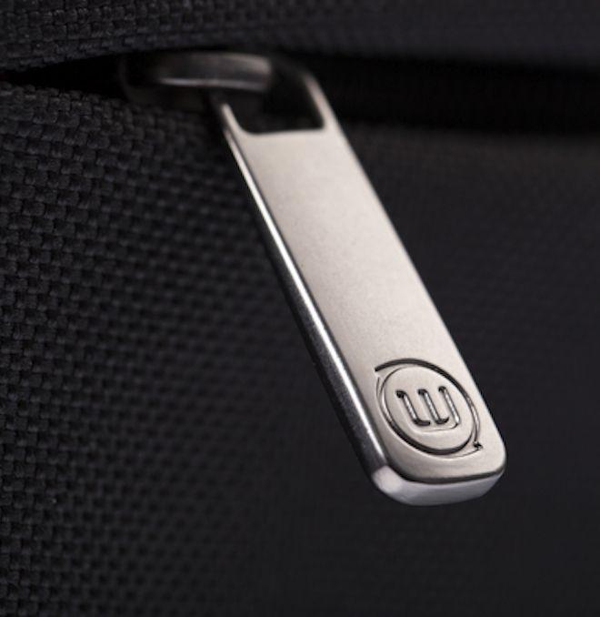 gunmetal zip-puller