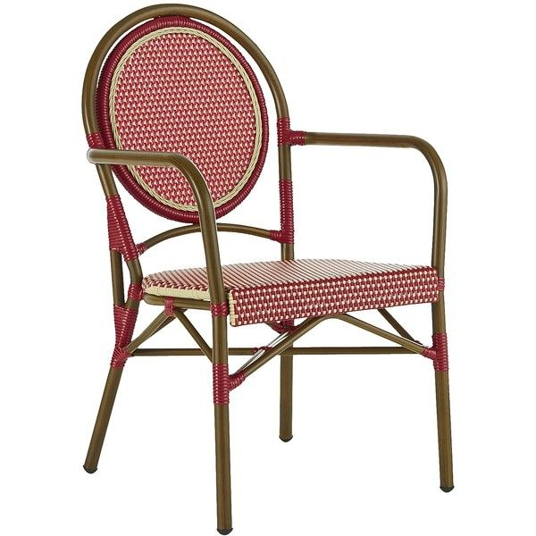 pier one outdoor chairs cosco folding padded 1 imports bistro chair 100 liked on polyvore featuring home outdoors