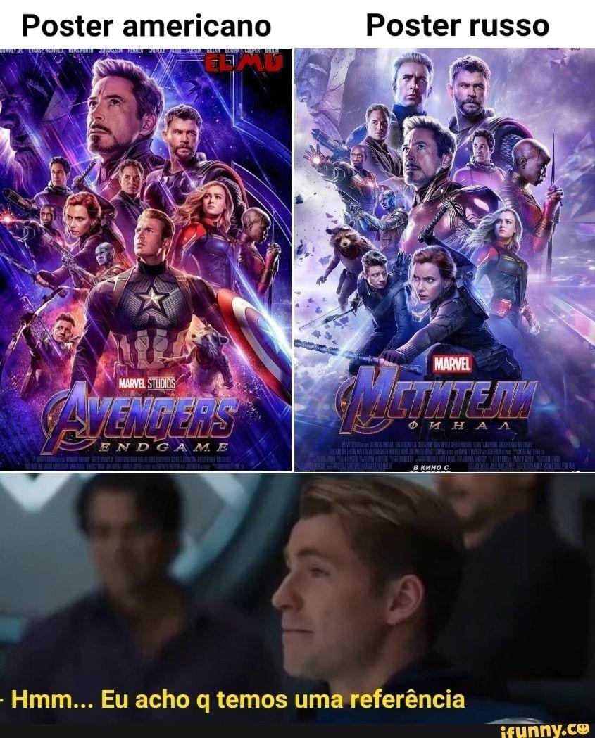 Memes Dos Vingadores, Memes