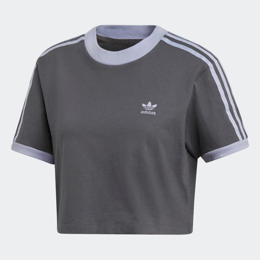 Cropped Tee Grey Six DX1143   Adidas crop, Shirts, Cropped tee shirt