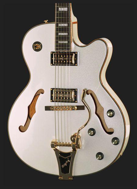 Epiphone Swingster White Royale | Gitarre