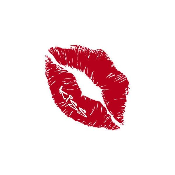 Lipstick Kiss Tattoo Designs