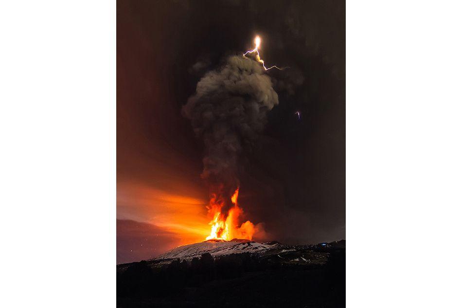 Etna, cinque anni esplosivi