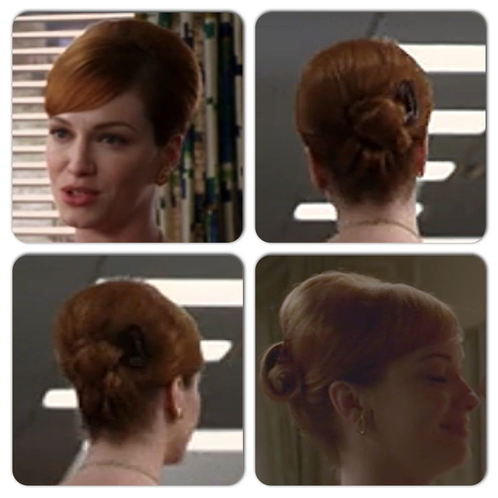 Mad men hairstyle hair ideas pinterest