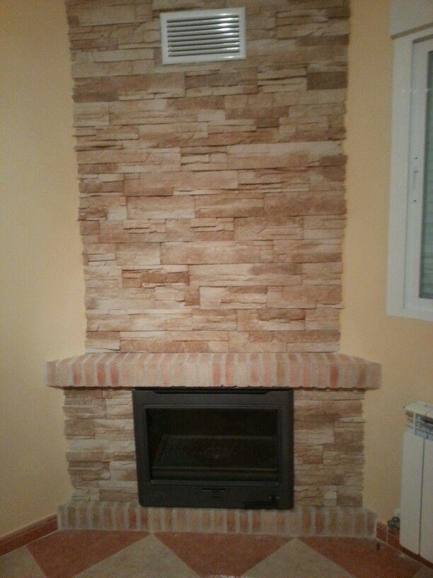 Chimenea de obra teruel home decor decor y home for Construccion de chimeneas de lena