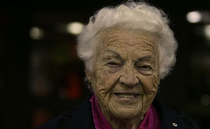 """93-Year-Old Mayor Hazel McCallion Teaches Us How to Lead a """"Life with Purpose""""  Our communities would be better off if we had more public servants like Mayor McCallion. When she retires this year she will be greatly missed.  What an inspiring woman."""