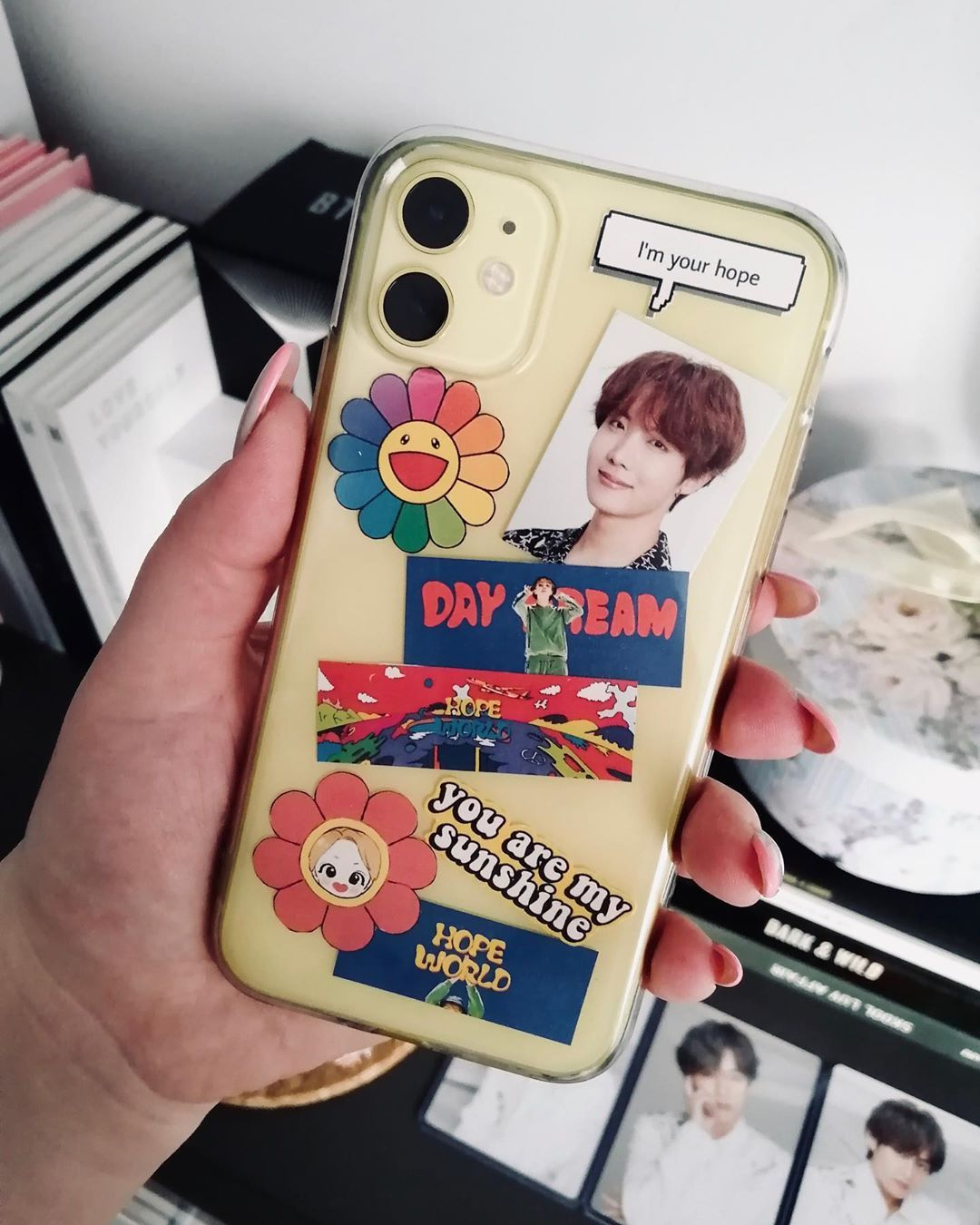Nika On Instagram Also I Made A Cute Phone Case For The Hoseoks Event But I Didn T Have A Chance To Take Cute Phone Cases Diy Phone Case Kpop