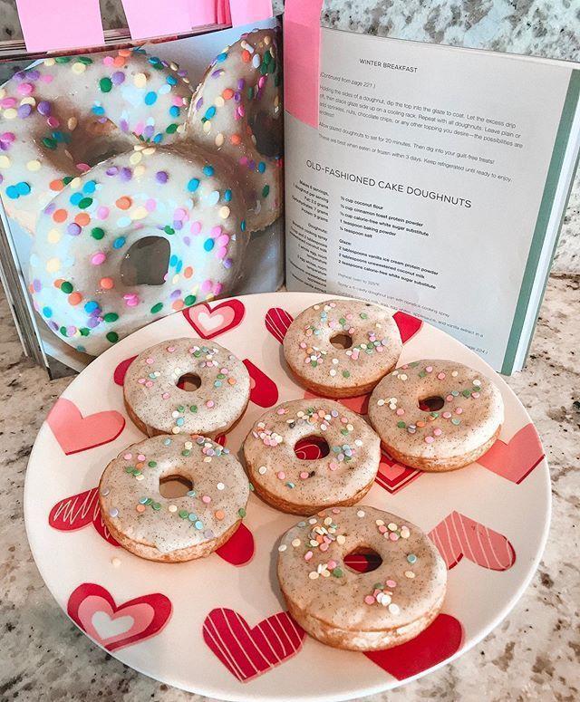 Protein Donuts. Ich mache derzeit 2 Herausforderungen, eine in meiner Facebook-Gruppe und ... - #derzeit #donuts #eine #FacebookGruppe #Herausforderungen #ich #mache #meiner #Protein #und #proteindonuts
