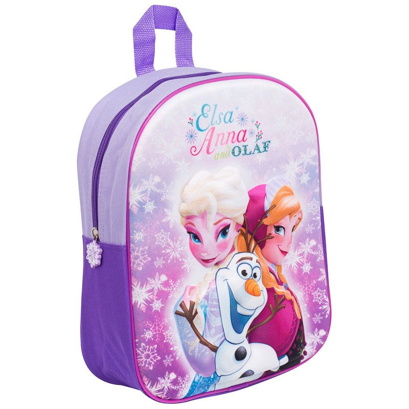 d04c5be803d 3D School Backpack. Children s 3D bag available in 5 designs. Design  Frozen   School  schoolshoes  backtoschool  bmstores  bandm  bandmbargains  parents  ...