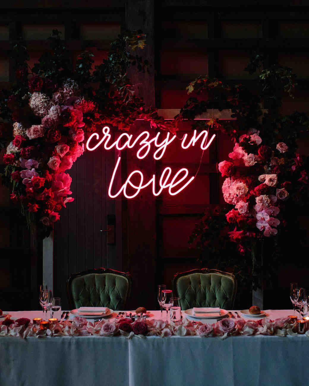 20 Ways to Use Neon Signs to Light Up Your Wedding in 2020