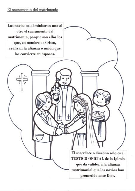 El Rincón de las Melli: SACRAMENTO: Matrimonio | Dibujos para ...