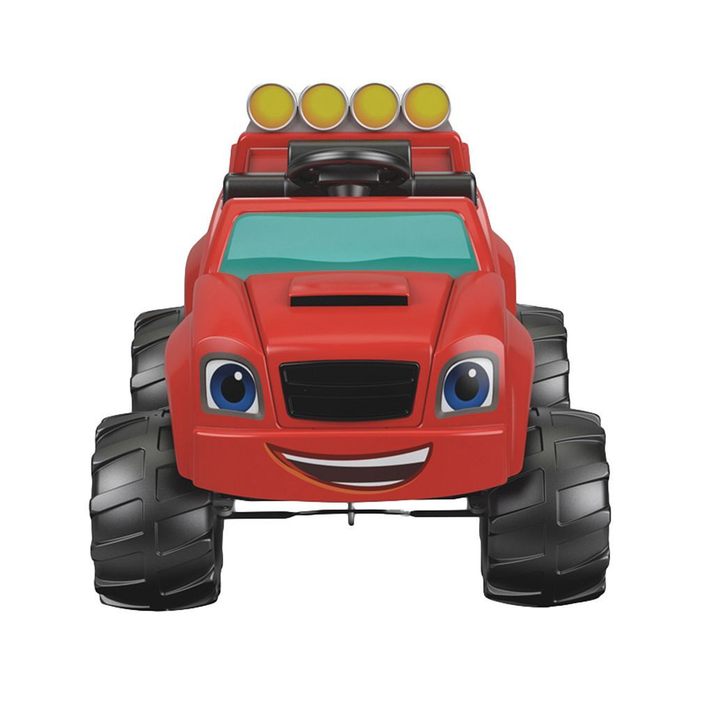 Power Wheels Blaze And The Monster Machines Monster Truck Ride On By Fisher Price Power Wheels Monster Trucks Fisher Price