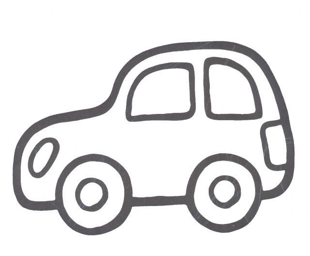 afbeeldingsresultaat voor afbeelding auto simpel