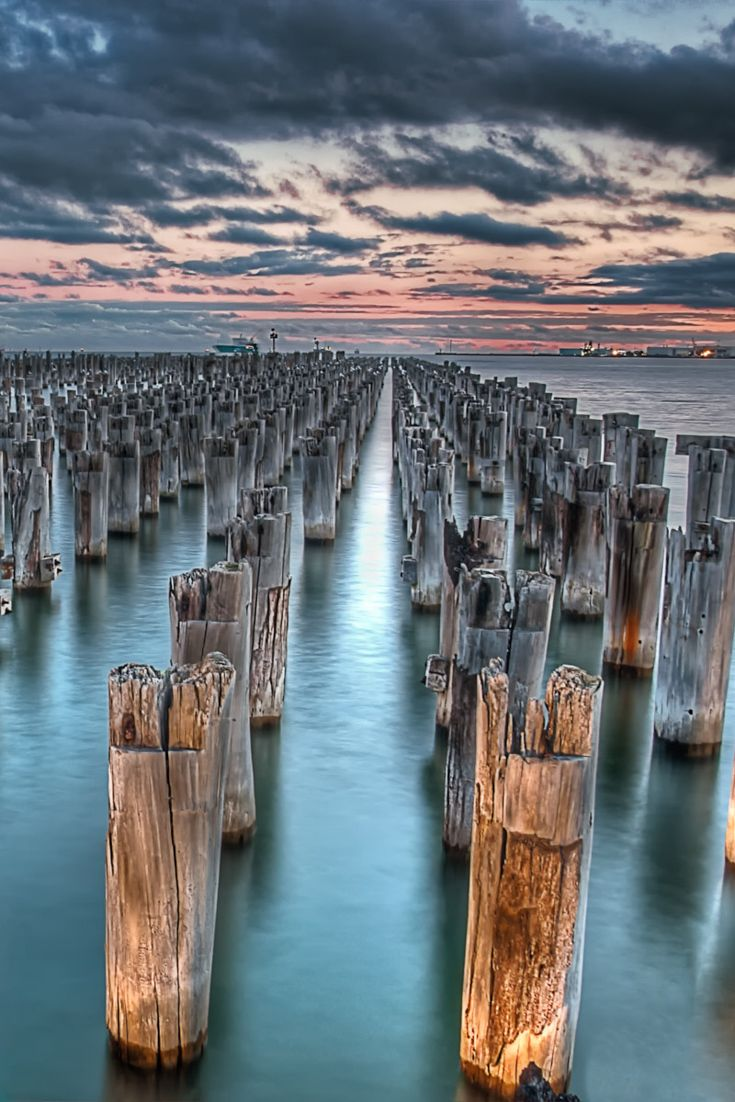 Port Melbourne (VIC) Australia - Princes Pier  Melbourne is my city, it is my base. I know so many places but which one are the best to visit. Here is the top 15, not to be missed  http://mel365.com/places-to-visit-in-melbourne/