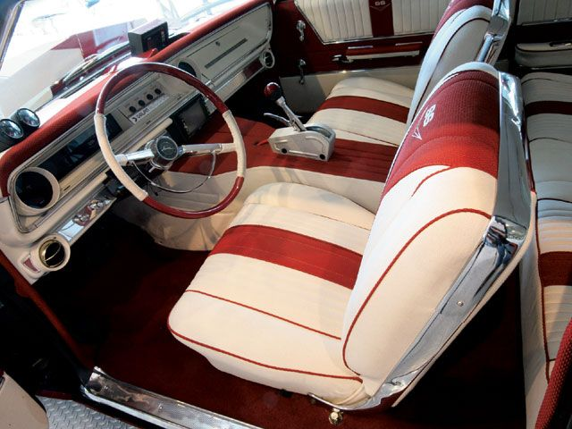 chevy impala red pinterest cars car interiors and custom cars. Black Bedroom Furniture Sets. Home Design Ideas