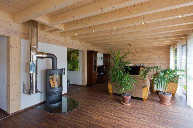 Blockhaus im auel 05 house dreaming haus tr umen for Blockhaus modern einrichten