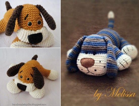 Free Crochet Patterns For Pet Toys : Free Crochet Yorkie Dog Pattern With Video Puppys ...