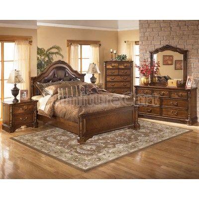 San Martin Panel Bedroom Set Signature Design Furniture Cart Ashley Bedroom Furniture Sets Bedroom Sets Furniture King King Bedroom Sets