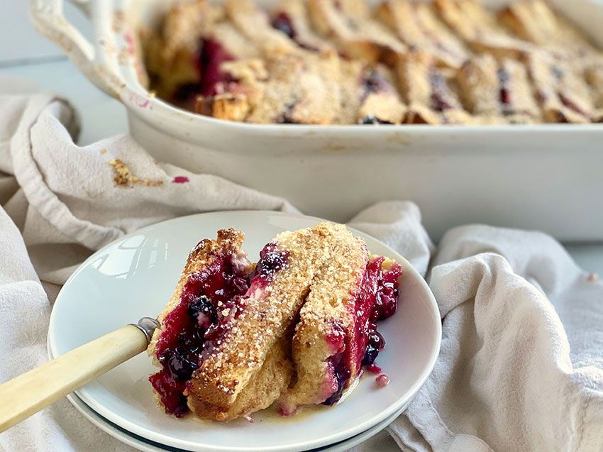 Photo of Stuffed French Toast with Cream Cheese & Jam – Jessie Sheehan Bakes