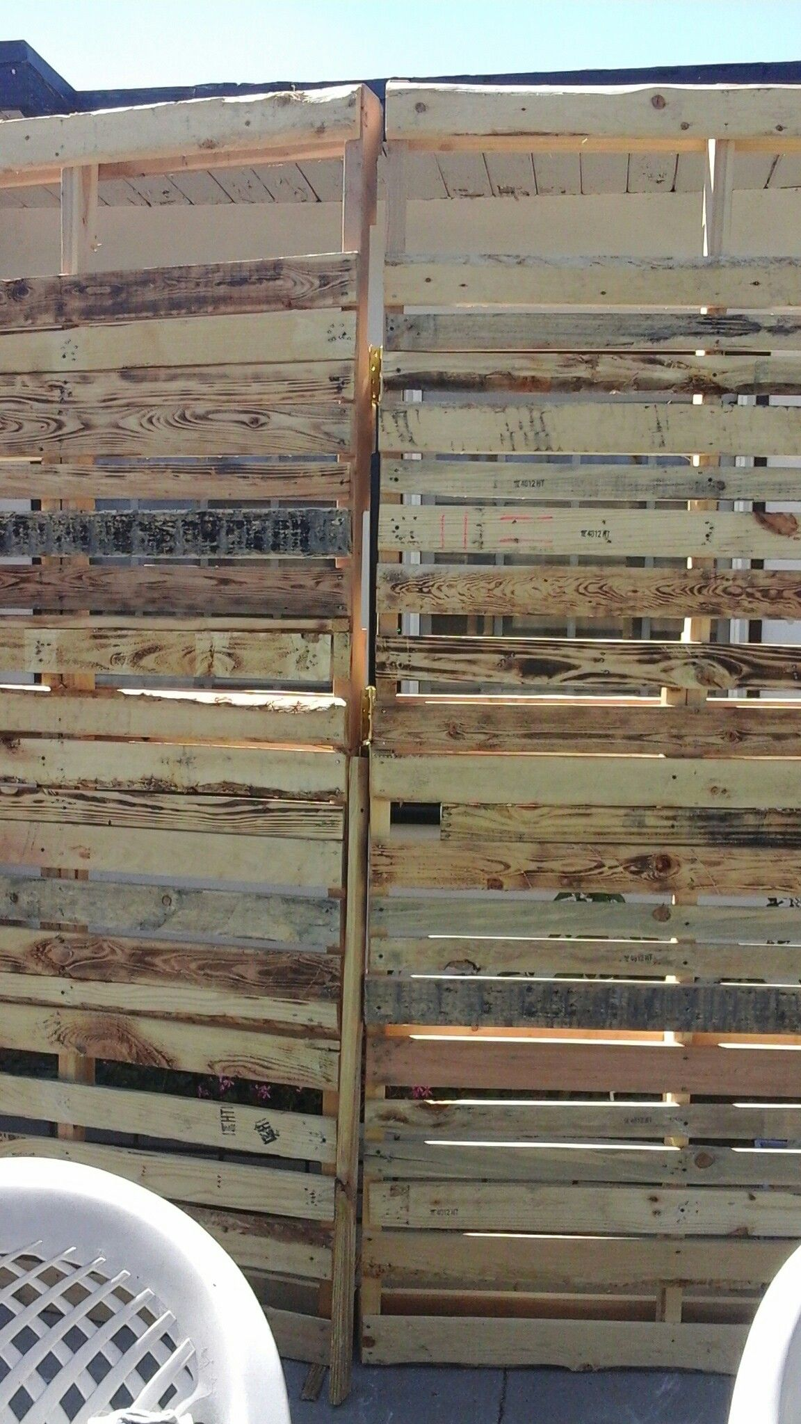 Pallet backdrops for wedding, great as photo booth backdrop, for ...